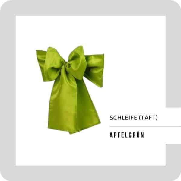 Schleife Apfelgrün